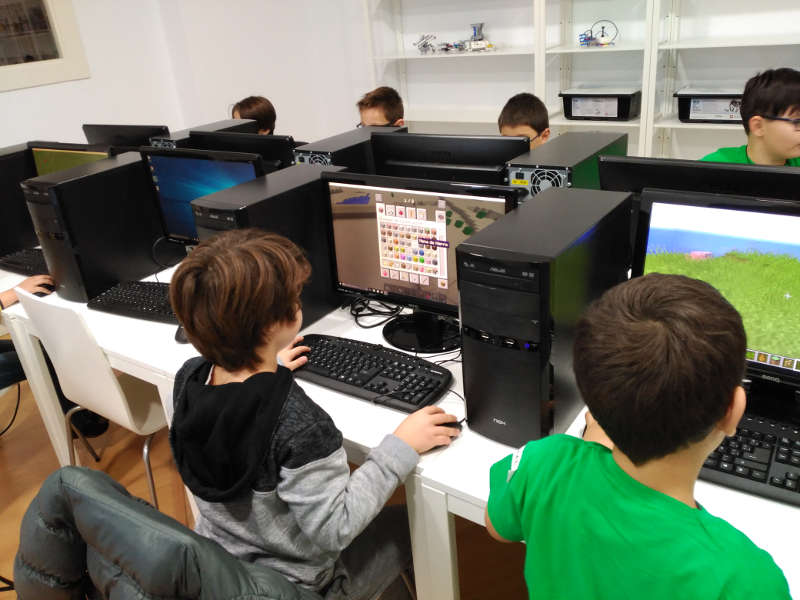 iSchool que se aprende Curso online Minecraft