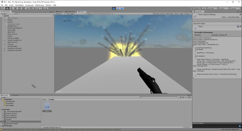 Diseña juegos en 3D con iSchool en Unity
