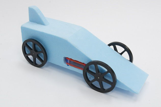 iSchool descripción Rocket Car School