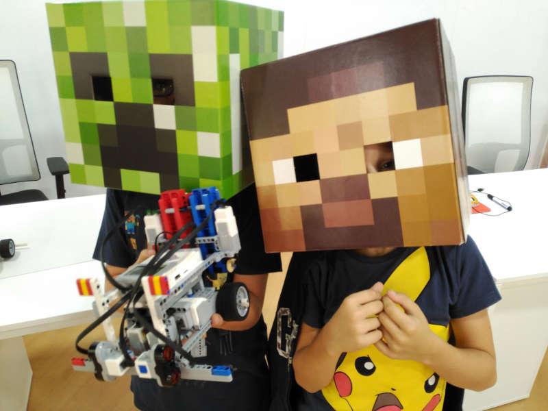 iSchool descripción Curso online Minecraft